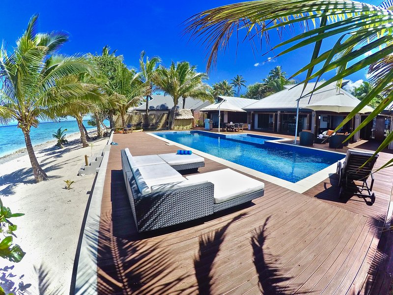 Villa Mokusiga Private Beachfront Villa with Chef options - Image 1 - Sigatoka - rentals