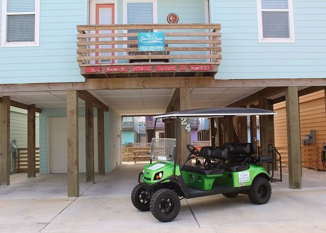 FREE GOLF CART FOR SHORT TERM RENTALS! - Best Little Shore House in Texas! Community Pool, *Free Golf Cart, Near Beach - Port Aransas - rentals