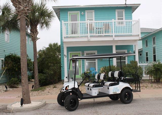 FREE GOLF CART FOR SHORT TERM RENTALS! - Sea La Vie,  4 bedroom, 3.5 bath, 2 master suites, sleeps 12, Free Golf Cart* - Port Aransas - rentals