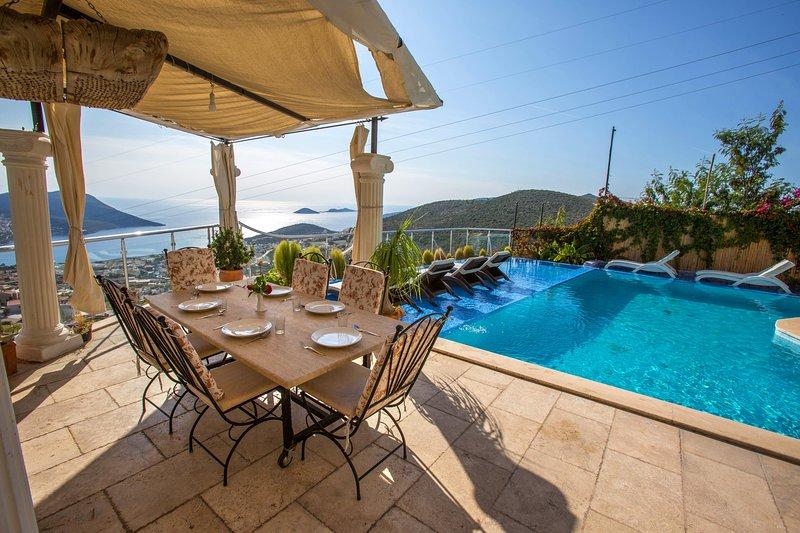 5 Bedroom Secluded Seaview Villa KALKAN - Image 1 - Kalkan - rentals