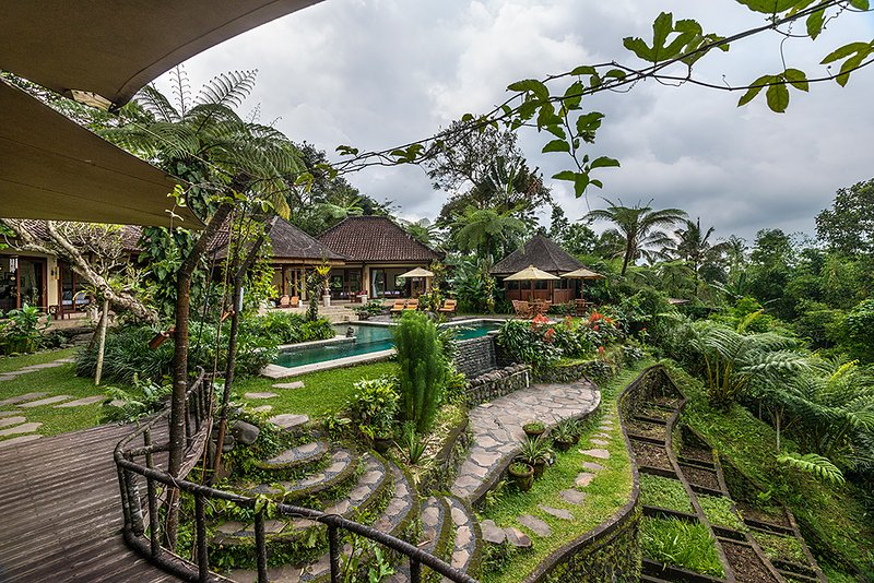 Heaven in Bali - Main Villa, pool and terraces - Heaven in Bali (Formerly Orchid Villa) - Payangan - rentals