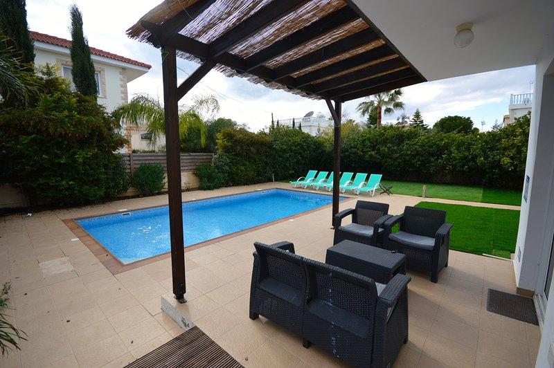 Impressive 4 bed villa w/pool Nissi Beach Cyprus - Image 1 - Ayia Napa - rentals