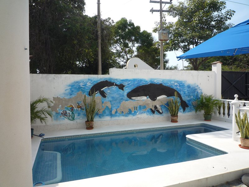 Detached 4 Bed, villa,POOL, at the Beach. slps 8/9 - Image 1 - La Cruz de Huanacaxtle - rentals