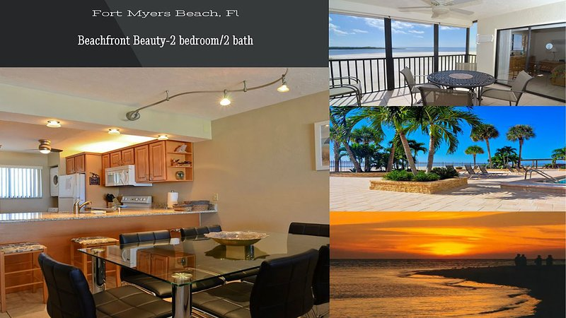 Beachfront Beauty * You Will Love This Renovated Condo * Beach - WiFi & ROKU - Image 1 - Fort Myers Beach - rentals