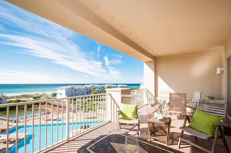 San Remo 407..Top floorBeach Service included - Image 1 - Santa Rosa Beach - rentals