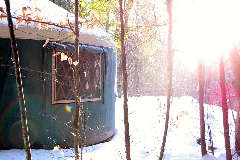 Mountain Brook Yurt Off-The-Grid Retreat - Image 1 - Denmark - rentals