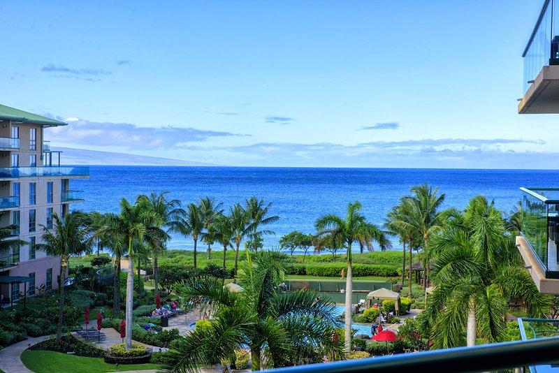 Maui Resort Rentals: Honua Kai Hokulani 533 – Upgraded 5th Floor Oceanview - Image 1 - Lahaina - rentals