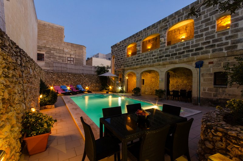 "pool Area - Ta""Filomena Traditional Farmhouse Private Pool - Xaghra - rentals"
