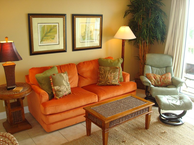 The perfect beach retreat! Clean & well maintained w/ tropical decor throughout. - BEST CHOICE @CALYPSO! 2nd Flr, Free Beach Chairs! - Panama City Beach - rentals