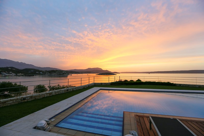 Almyra Residence Pool View - SK Place Crete Luxury Seafront Villas - Almyra Residence with Heated Pool - Chania - rentals