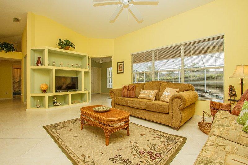 Living Area - Baltic990 - 990 Baltic Terrace - Marco Island - rentals