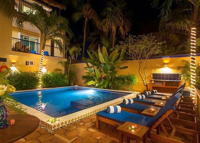Modern, comfortable well appointed apartment with private courtyard. - Image 1 - Puerto Morelos - rentals