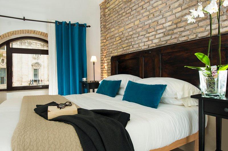 Bedroom 1 - Archi Vittorio - Campo de Fiori / Piazza Navona - Rome - rentals