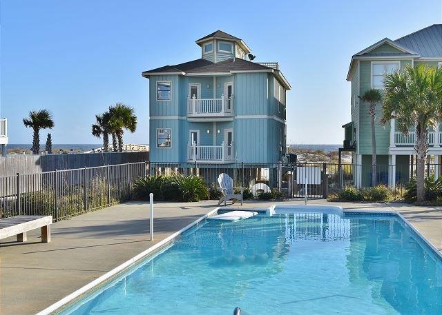 Halekai II, Beachfront House, Private Pool & Gazebo - Image 1 - Orange Beach - rentals