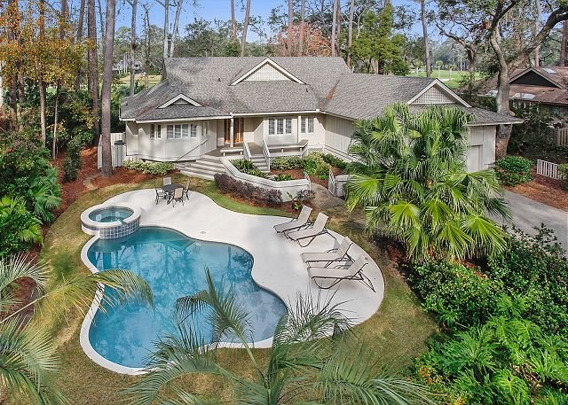 Battery Road 25 - Fabulous Home with Private Pool & Spa plus views of Harbour Town Golf Links! - Hilton Head - rentals
