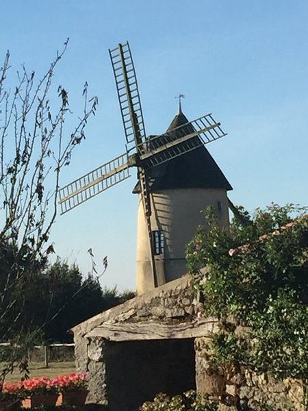 Moulin85 - A Beautiful 19th Century Windmill - Image 1 - La Chapelle-Themer - rentals
