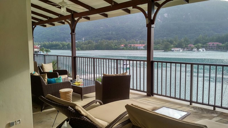 Veranda View  - Eden Island Marina Penthouse incl. Electric Car, Wify, Sat TV - next  to Pool - Eden Island - rentals