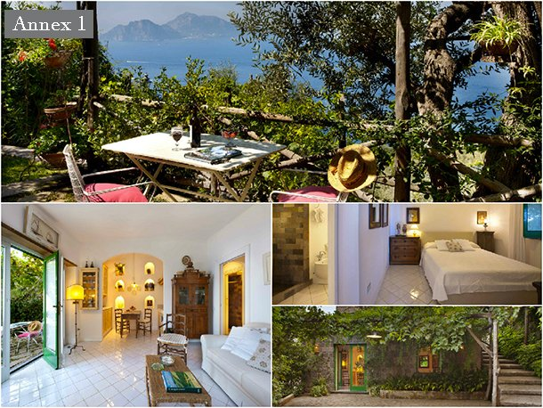 Sorrento Peninsula Villa with Spectacular Views  - Villa Dina - 12 - Image 1 - Marciano - rentals