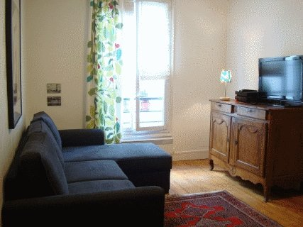 Living room - LOVELY Paris Apartment: Sleeps 4, Central, Calm - Paris - rentals