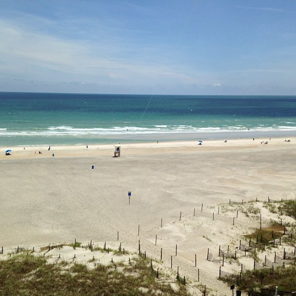 Private Balcony overlooking the beautiful Atlantic at Wrightsville Beach - Wrightsville Beach Ocean Front Shell Island Resort - Wrightsville Beach - rentals