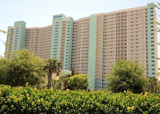 Gulf front 1 bedroom 1 bath sleeps 6 Great local for Ball teams - Image 1 - Panama City Beach - rentals