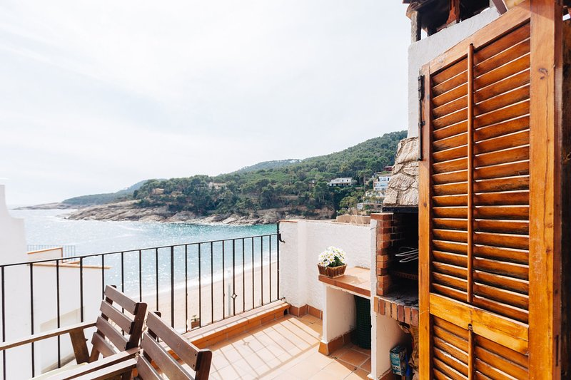 Terrace Penthouse on the Beach!-TB2 - Image 1 - Tamariu - rentals