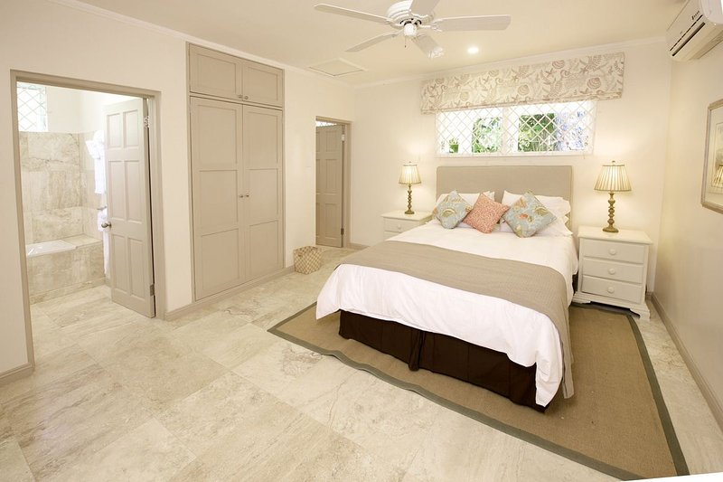 High Trees - Bedroom Three - High Trees - Tropical Beachfront Oasis - Saint Peter - rentals