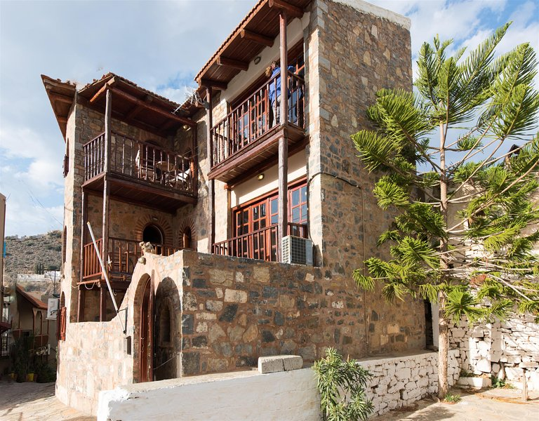 Traditional Home with Private Pool and Sea View (Monastery) - Image 1 - Elounda - rentals