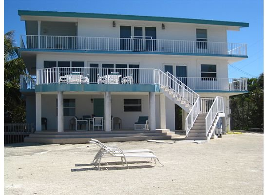 Back of House.  Only Ground and Second Floor are Rented.  3rd Floor Locked out. - 76004 Overseas Highway - Islamorada - rentals