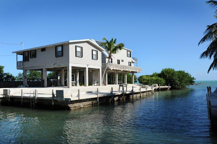 Canal View of House w/ Protected Dockage - 140 Atlantic Lane - Islamorada - rentals