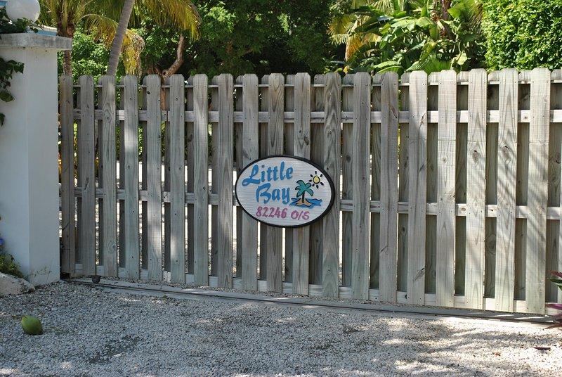 Gate - Little Bay Compound - Islamorada - rentals