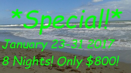 January Special! Jan. 23-31 2017 10 Nights! 0nly $1000 - Banana Hammocks Carribean resort style Villa! Enjo - Fort Pierce - rentals