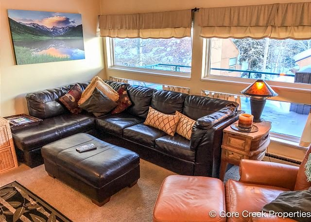 Modern two bedroom condo on Vail free bus shuttle - Image 1 - Vail - rentals