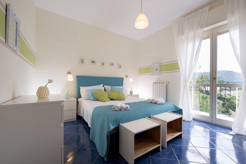 Matrimonial Bedroom - Stanza matrimoniale - New Holiday Rentals i Normanni - Salerno - Salerno - rentals