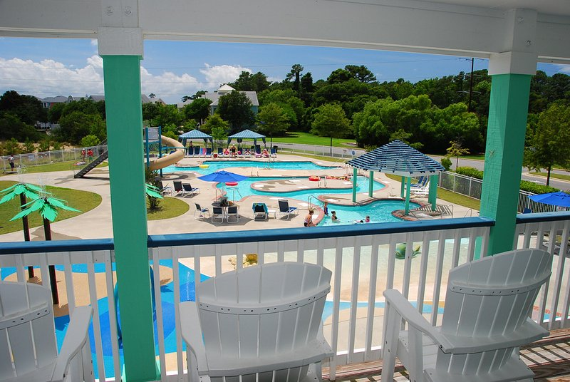 Bermuda Bay Resort Pool Complex  - Cambridge Cove 2 Bedroom Condo - Waterpark Access - Kill Devil Hills - rentals