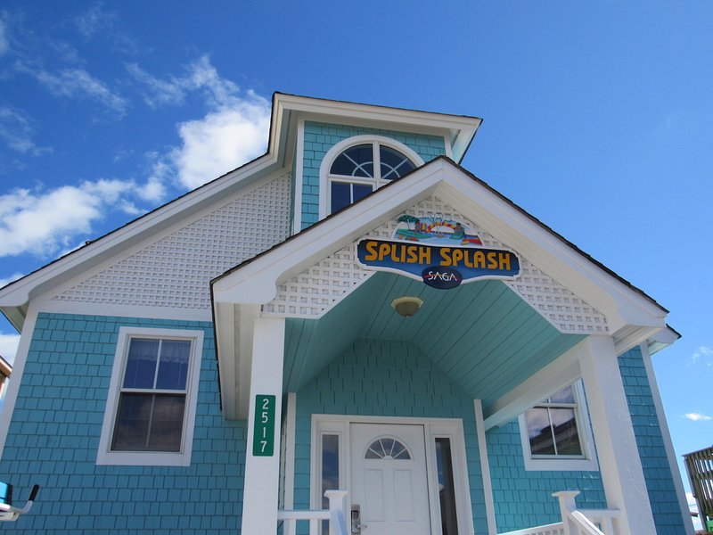 Welcome to Splish Splash by KEES Vacations - Splish Splash - 6 BR Oceanfront home - Splash Pad - Nags Head - rentals