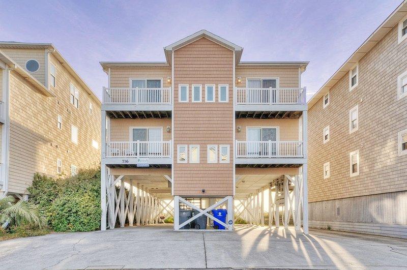 TRANQUILITY VILLA - 6 BEDROOM OCEANFRONT - Image 1 - Carolina Beach - rentals