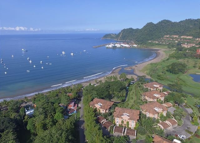 Condo is located close to the ocean its only a short golf cart ride to the marina village. - Style & Grace await in this Ocean View Condo at Los Sueños! Great Location! - Herradura - rentals