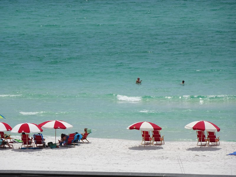 Can you picture yourself on our white sand beach! - Mediterranea of Destin - Miramar Beach - rentals