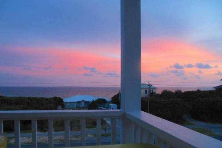Watch the amazing sunsets over the Gulf of Mexico! - Seabreeze Cottage #45 - Stylish Beach Home in Seacrest! Views of the Gulf - Seacrest Beach - rentals