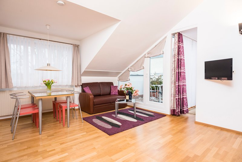 Cozy penthouse with private terrace Ap2 - Image 1 - Vienna - rentals