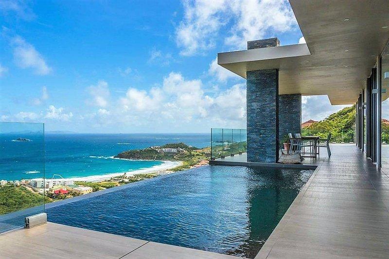 Villa Mooi, Mandara REsidences, Red Pond, St Maarten - VILLA MOOI... Wow!!! Luxurious Modern Villa in Mandara Residences overlooking Guana Bay - Saint Martin-Sint Maarten - rentals