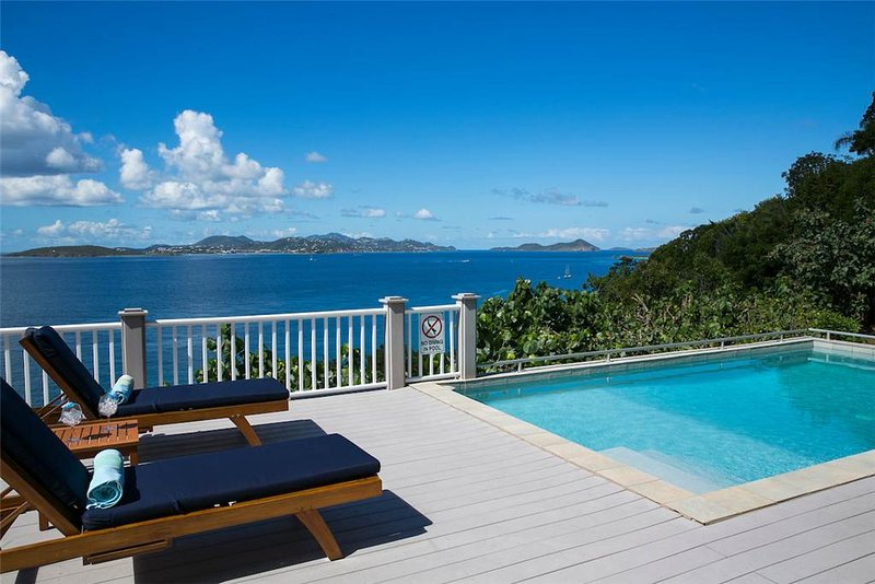 Coqui: Lovely Cliffside Villa! 180 degree Panoramic View! - Image 1 - Chocolate Hole - rentals