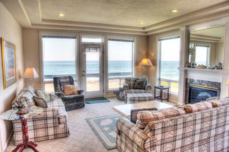 Every Bedroom Has an Ocean Front View! Game Room and Hot Tub! FREE NIGHT! - Image 1 - Yachats - rentals