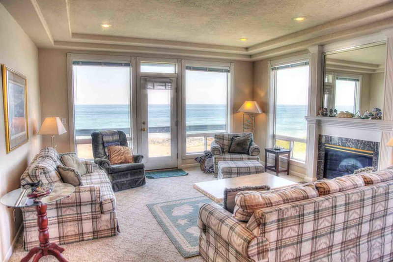 Every Bedroom Has an Ocean Front View! Game Room and Hot Tub! - Image 1 - Yachats - rentals