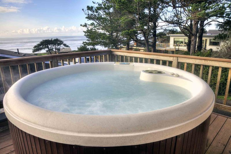 Panoramic Ocean Views and Ocean Front Hot Tub!  FREE NIGHT! - Image 1 - Yachats - rentals