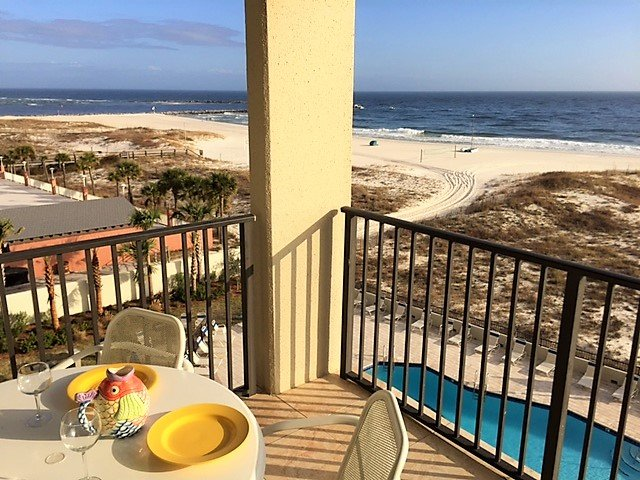 Relax on the Balcony with Great View of the Gulf and Boats in Perdido Pass - Upgraded Unit&Best Beach Location at Perdido Pass - Orange Beach - rentals