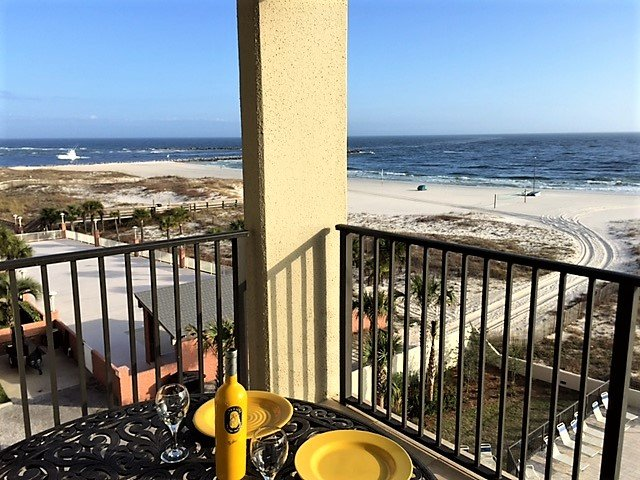Relax on the Balcony with Great View of the Gulf and Boats in Perdido Pass - NEW Reno&Furniture;Owner Manage;Best Location - Orange Beach - rentals