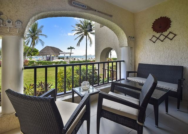 Xaman Ha 7005 Playa del Carmen Terrace  - Ground floor easy pool and beach access! (XH7005) - Playa del Carmen - rentals