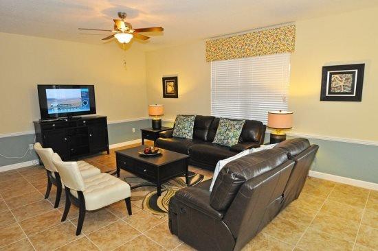 5 Bedroom 4.5 Bath Pool Home in ChampionsGate Golf Resort. 1455MS - Image 1 - Loughman - rentals